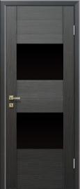 Profil Doors 21x Грей (Грей мелинга) ст.черное