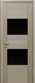 Profil Doors 21x Капучино (капучино Мелинга) ст.черное