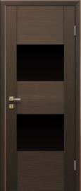 Profil Doors 21x Малага Черри Кроскут ст.черное