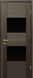 Profil Doors 21x венге стекло черное